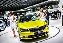 ŠKODA at the Geneva Motor Show 2015 / The Geneva Motor Show 2015 took place from 5th to 15th March 2015 and ŠKODA had a lot to show! The New ŠKODA Superb, ŠKODA Octavia RS 230 with it's 227hp, ŠKODA Fabia Monte Carlo and much more!