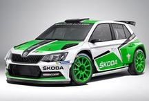"""New ŠKODA Fabia R5 / The new high-tech 1.6 litre turbo engine of ŠKODA Fabia R5 with four-wheel drive is ready to unleash two hundred and sixty five horses at the push of your right foot.  """"We are delighted that the International Automobile Federation, the FIA, homologated our new ŠKODA Fabia R5. Now we want to see how competitive our new rally car is,"""" said ŠKODA Motorsport Director Michal Hrabánek #R5"""