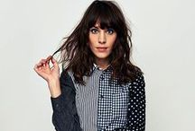 Alexa Chung / If I were a wardrobe, this is what I would look like.  A collection of Alexa Chung's best looks and the ensembles I can only hope to mimic.