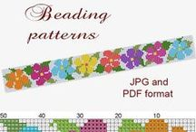 Jewelry Patterns / Patterns for all sorts of jewelry stitches and techniques.  #handmade