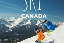 SKI CANADA ** / Where to ski and snowboard in Canada and other fun things to do in winter. Here are Canada's best winter resorts.