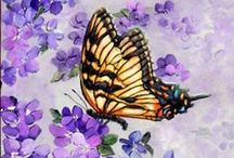 Beautiful Butterfly Art / As Psyche is the ancient Greek word for #butterfly and I love collecting butterflies I thought I'd include some pretty art.