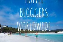 **Travel Bloggers Worldwide /  Curated posts from travel bloggers around the world