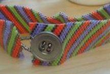 Style Board: Striped Peyote Bracelet