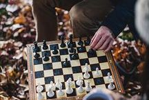 Chess ideas and playing / Those who know, love and play the wonderful game of chess.