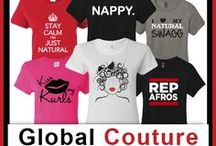 Natural Hair Shirts  / Globalcouture.net