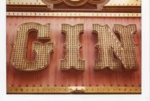 GIN / My favourite tipple.