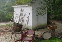 SHEDS AND GARDEN TOOLS