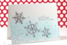 Christmas card ideas / Christmas cards I've spotted in blogland and loved!