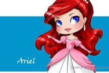 Disney - Ariel / by Nightrunner