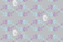 fabric // telas / Diseño aplicado a telas, telas aplicadas al diseño