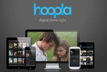 What's all the hoopla? / hoopla is an innovative new service that partners with your local public library to bring you thousands of movies, television, music, and audiobook titles for free / by hoopla digital