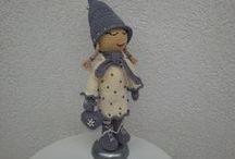 Winter Doll crochet / crocheting, Handmade