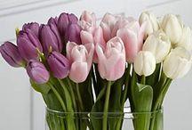 Flower arangements / Bloemenarrangementen, om zelf te maken
