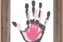 Kéz és láblenyomatok