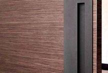Schuifdeuren / Grand kamer en suite schuifdeuren steel look