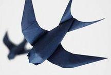 Handmade / #origami #origamis #handmade #handcraft #paper #art