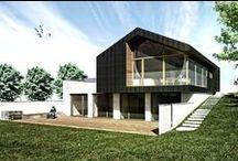 Dom jednorodzinny z garażem / Dom jednorodzinny w miejscowości Zawada k. Częstochowy