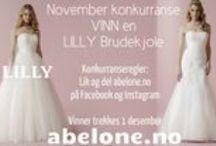 LILLY 2016 Brudekjoler / Norges største utvalg av Lilly brudekjoler finner du hos oss ABELONE.NO Brudesalong & Nettbutikk