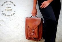 """THE COBBLEROAD (DESIGNER COLLECTION) / Meet the Zinnia Convertible Backpack/Crossbody! Take a closer look at our amazing transforming bag Buy it-- http://goo.gl/mQ8ajQ The Zinnia Convertible is an instantly convertible backpack/crossbody bag coming in a luxurious Heritage leather and fitting up a 15"""" laptop as well as a lot more. The unique conversion system we designed means no fumbling, no stress, just grab and pull.  """