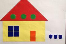 Wonen - Huis - Bouwen / Waar woon ik. Verschillende huizen. Hoe ziet een huis eruit. Voor Instroomgroep 1.