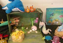 Vissen. Onder water. O,o,o Octopus. Aquarium. / Verteltafel O,o,Octopus
