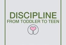 - BLOG: Discipline / Check out my blog posts on Discipline from Toddler to Teen. www.sharonselby.com/discipline