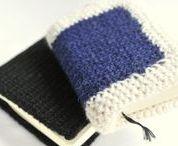 Szydełkowy Bullet journal CROCHET SCRAPBOOK / Szydełkowe okładki Crochet notebook covers