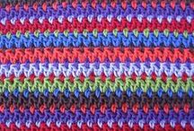 Crochet Stitches & Co 1 / Stitches, ripples, waves, edgings, borders... / by Terapia Craft
