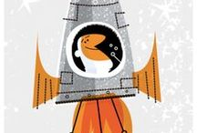 Illustration / by Katarzyna Andrzejewska