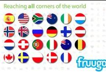 Fruugo Countries / Where Fruugo is available