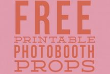 CRAFTS :|: Photobooth props / An inspiration about DIY photo booth props.. I have tried a couple of these myself for several events.. They are a fun alternative..  #creativostoa#DaeguPhotographer#EventPlanninf#Evergreen#EventPhotographer