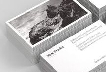 Business cards / Strong examples of business card design.