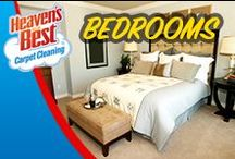 Master Bedroom Ideas / Make your bedroom a place of retreat where you can leave your worries behind. Let Heaven's Best help you keep it that way by having them come into your home about 3 to 4 times a year and deep cleaning those carpets, area rugs, or wood floors. This will help keep your bedroom in pristine condition so it is a wonderful relaxing place. Call Brett Palmer at: 623-670-0120