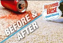 Heaven's Best Before and After Photos / Our Heaven's Best carpet cleaning experts can tackle the toughest stains and dirt leaving your carpets clean and renewed. There are many carpet cleaners to choose from, but when you choose Heaven's Best, we'll leave your floors looking, feeling, and even smelling great. Your couch, chairs, and loveseat will smell great, too!
