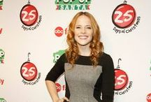Katie Leclerc at Winter Wonderland / by Switched at Birth
