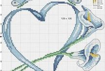 embroiderypattern for knitting and crocheting