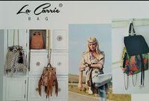 La Carrie Bag / La Carrie una nueva forma de interpretar los bolsos, como un accesorio capaz de sorprender, emocionar y desear.