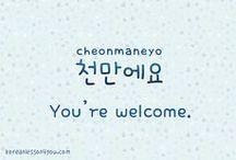 KOREA :|: The Language / Basic Korean