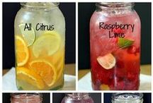 Lemonade and flavored water