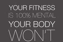 Fitnesspiration / for a healthier body :)