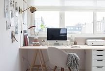Art Studio Organizing Tips / We all dream about the perfect Art Studio!