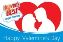 Valentines Day / Do you want a good Valentines gift? How about clean carpets? Give us a call today. Heaven's Best Carpet Cleaning, Buckeye AZ, 623-670-0120.