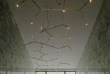Austere-Elements / Lighting by Hans Verstuyft http://trizo21.com/product/austere-elements  The lighting designer creates chemistry using the aesthetic desires of a perfectionist. Molecular compounds are the inspiration. The potential for branching in X, Y, + or - structures is a mathematical beauty, functional and aesthetically pleasing.
