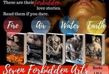 Seven Forbidden Arts / The elemental romance series: FIRE, AIR, WATER, EARTH, SPIRIT, ANIMAL, TIME