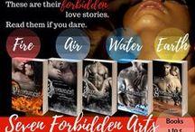 Seven Forbidden Arts / The elemental romance series: FIRE, AIR, WATER, EARTH, SPIRIT, ANIMAL, TIME