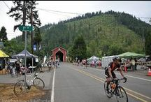 Cycling Cascades to Coast / When cyclists roll into the Eugene, Cascades & Coast region they connect with pedal power! From the sparkling Pacific coastline, through the gentle Willamette Valley, and into the thrilling Cascade Mountains, our climate and topography is aptly suited for cycling.