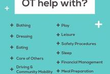 OT  Infographics / Useful occupational therapy infographics