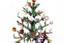 Sapins de Noël durables / Votre sapin de noël sera-t-il eco-friendly cette année?                        Des idées à retenir.....