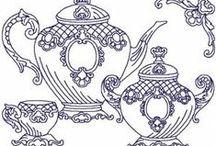 Cenefas, dibujos....de todo / Para aluminio, bordado, pintura..... / by Monica Guerrero